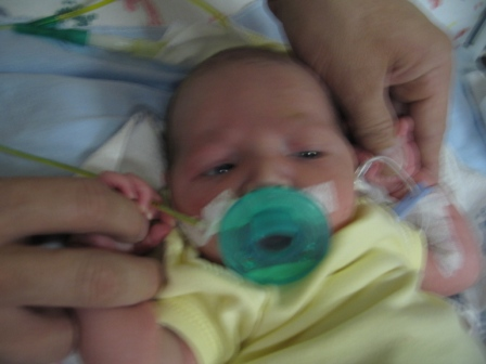 Baby in the NICU