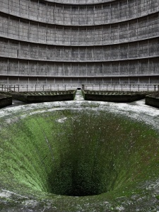 Disused Cooling Tower of a Power Plant, Belgium - PixelClouds.com